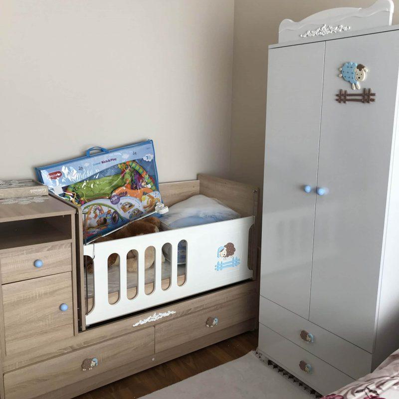 bebek odası takımı montajı