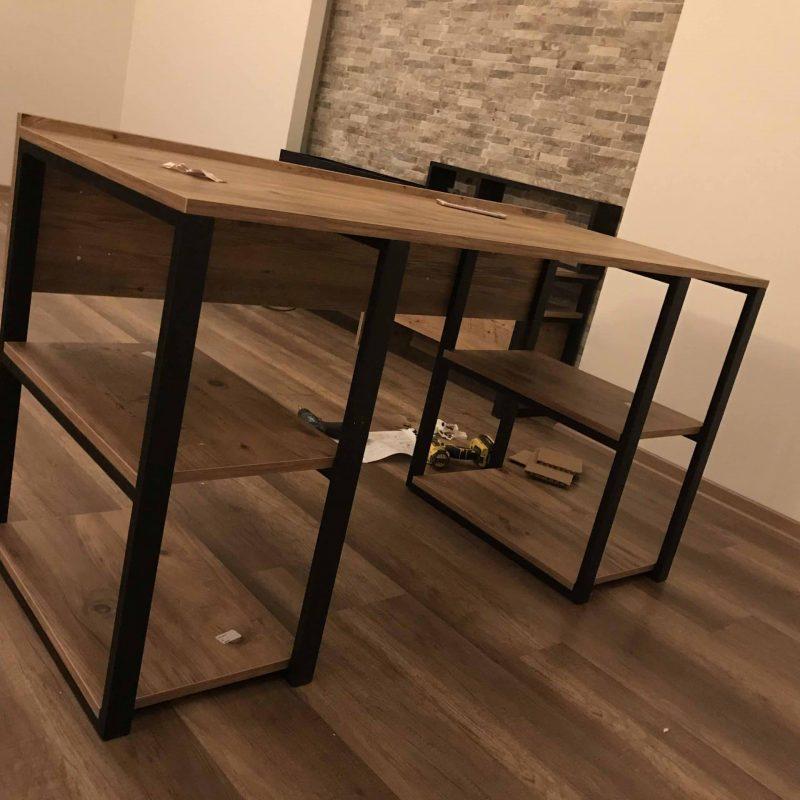 metal masa montajı